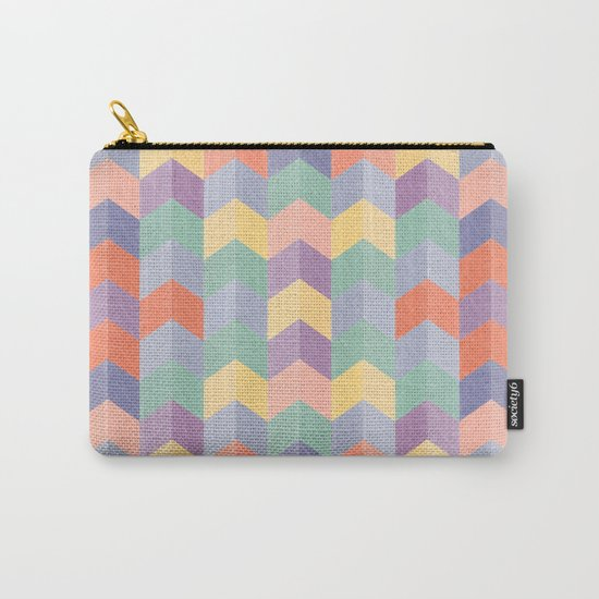 Colorful geometric blocks Carry-All Pouch
