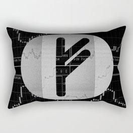Runa Fehu for trader Rectangular Pillow