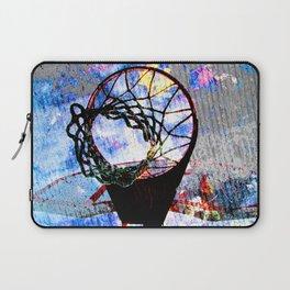 Basketball art spotlight vs 7 Laptop Sleeve