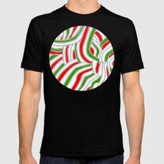 Holiday Ball Mens Fitted Tee Black MEDIUM