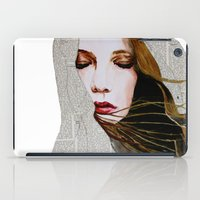 literary iPad Cases featuring Literary Girl by Charlotte Massey