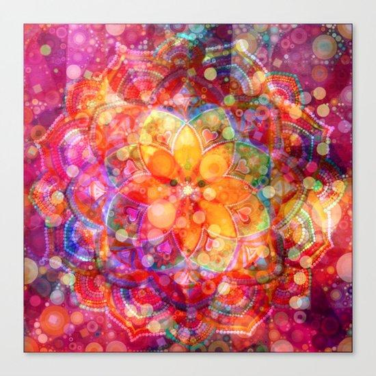 Dreaming Lotus Canvas Print