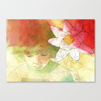 child Canvas Prints featuring child by Sabine Israel