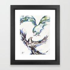 Clash Framed Art Print