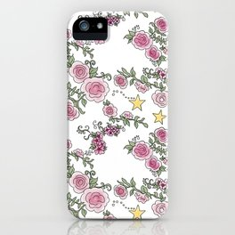 Project 52 | Pale Roses on White iPhone Case