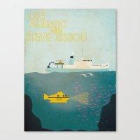 life aquatic Canvas Prints featuring Life Aquatic by C&F Prints