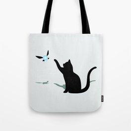 Cat and Navi Tote Bag