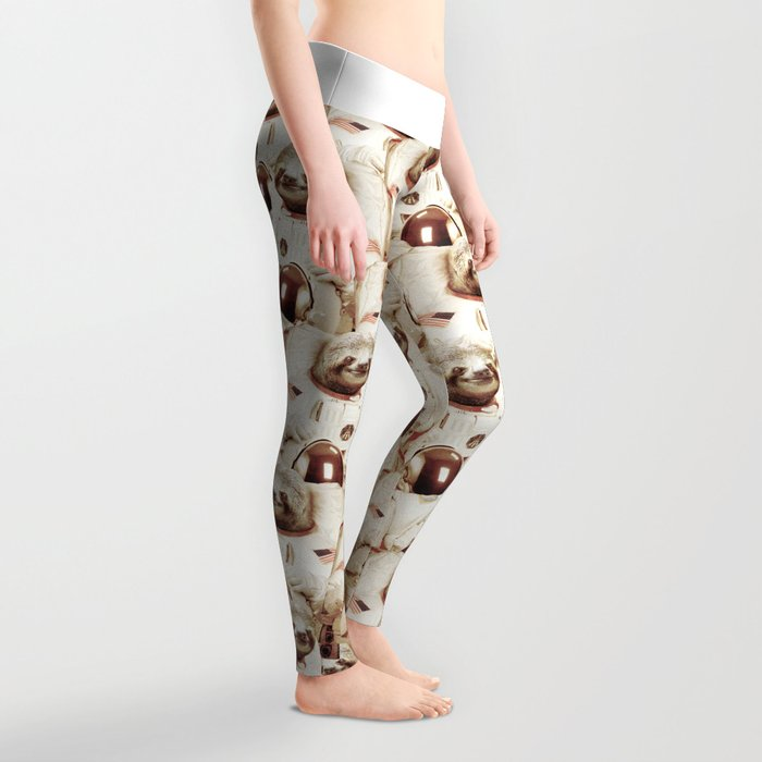 Sloth Astronaut Leggings