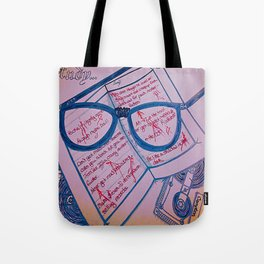 Study Your Tape of NWA Tote Bag