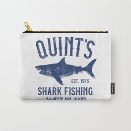 Quint's Shark Fishing - Amity Island Carry-All Pouch
