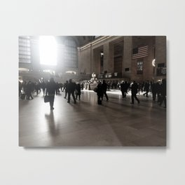 Early Morning, Grand Central Metal Print