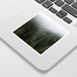 Dizzying Misty Forest Sticker