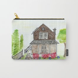 Lamb's House, Custom Watercolor Carry-All Pouch