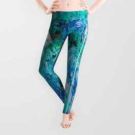 Deeper and Deeper Takes you Higher and Higher Leggings