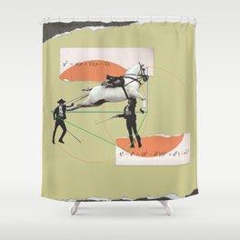 Entertainment formula Shower Curtain