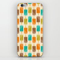 popsicle iPhone & iPod Skins featuring Popsicle by Liz Urso