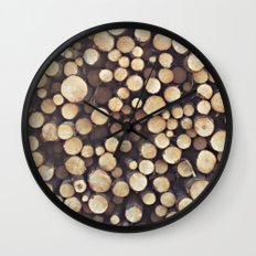 If I wood, wood you? Wall Clock