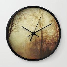 Fall Tales Wall Clock