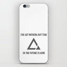 The Future is Mine iPhone & iPod Skin