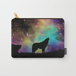 Wolf Galaxy Carry-All Pouch
