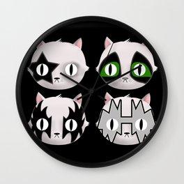 Hiss Cats - Makeup to Breakup Wall Clock