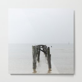 Gulfport Metal Print