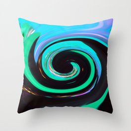 Swirling colors 02 Throw Pillow