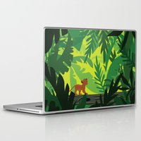 simba Laptop & iPad Skins featuring Lion King - Simba Pattern by Cina Catteau