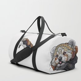 Red Panda Duffle Bag