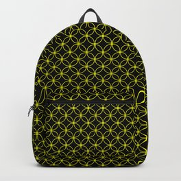 Rings 10 Yellow over Black Backpack