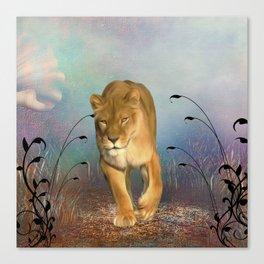 Wonderful wolf Canvas Print
