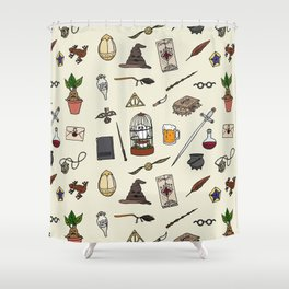 Harry Pattern Shower Curtain