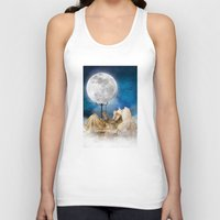 sandman Tank Tops featuring Good Night Moon by Diogo Verissimo