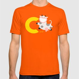 c for cow T-shirt