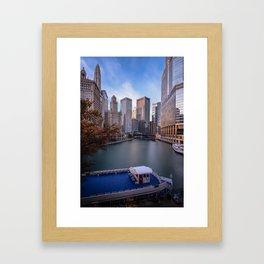 River North Framed Art Print