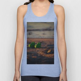 frog admiring the sunset Unisex Tank Top