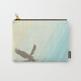 Eagle & Fish Carry-All Pouch