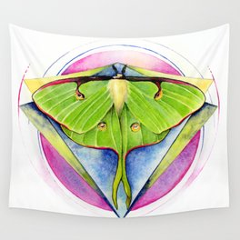 Actias luna - Luna Moth Wall Tapestry