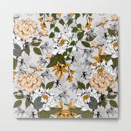 Blooming in autumn II Metal Print
