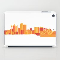 sydney iPad Cases featuring Sydney by S. Vaeth