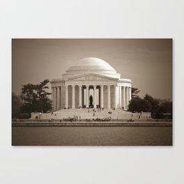 Thomas Jefferson National Memorial :: Washington DC Canvas Print