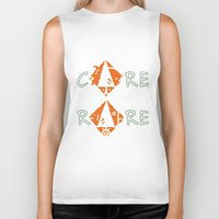 rare Biker Tanks featuring Care for the rare by SilviaGancheva