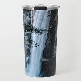 Vernal Falls from the Mist Trail - Yosemite Travel Mug