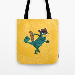 My Perry the Platypus Tote Bag