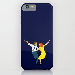 La La Land - Dancing Couple in Lamplight iPhone Case