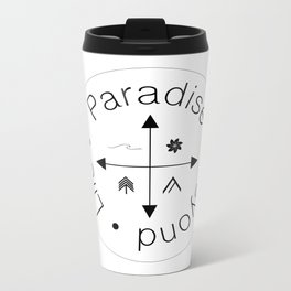 Life Compass Metal Travel Mug