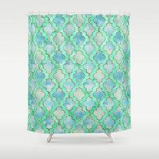 Gatsby Shower Curtains | Society6