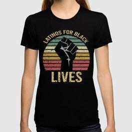 Latinos For Black Lives T-shirt