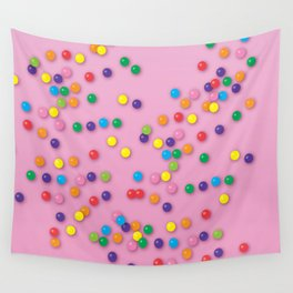 Donut Sprinkles Wall Tapestry