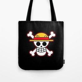 Straw hat Flag Tote Bag